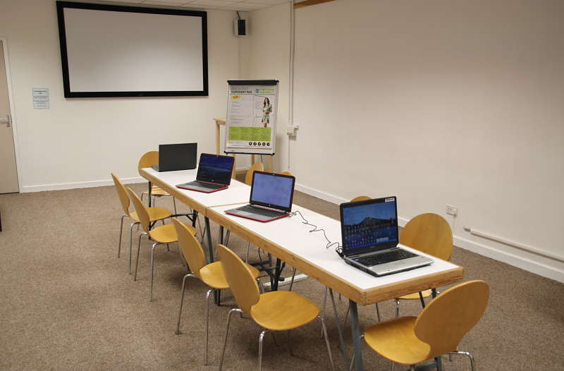 wheelchair friendly meeting room