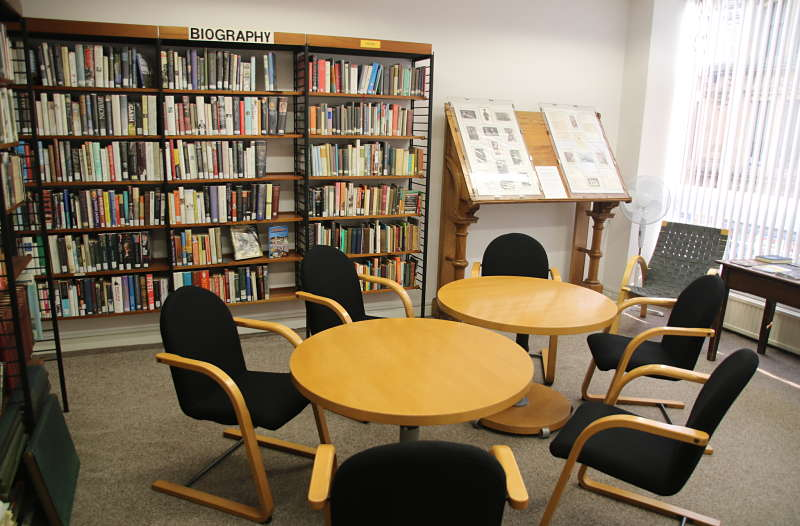 meeting room for hire at Bradford Mechanics Institute Library